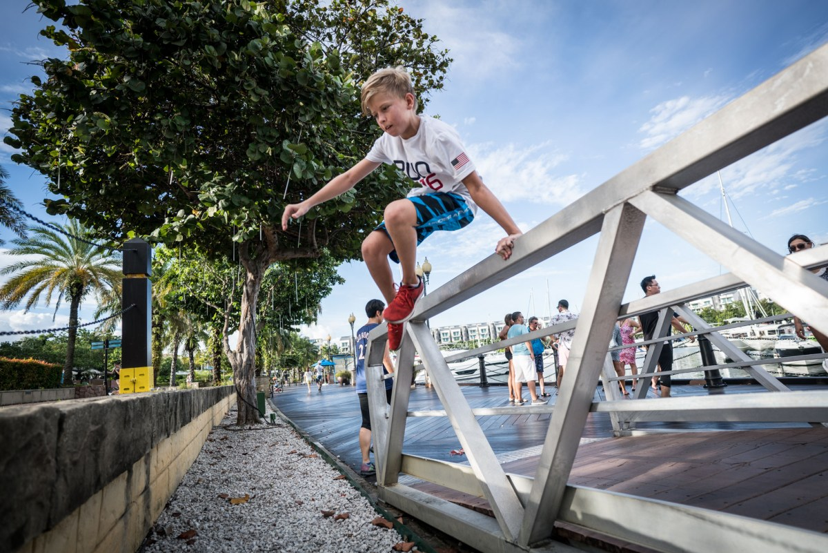 Parkour Kids Holiday Camp Intensive